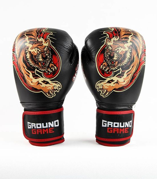 "Boxing Gloves PRO ""Red Tiger"" 10 oz"