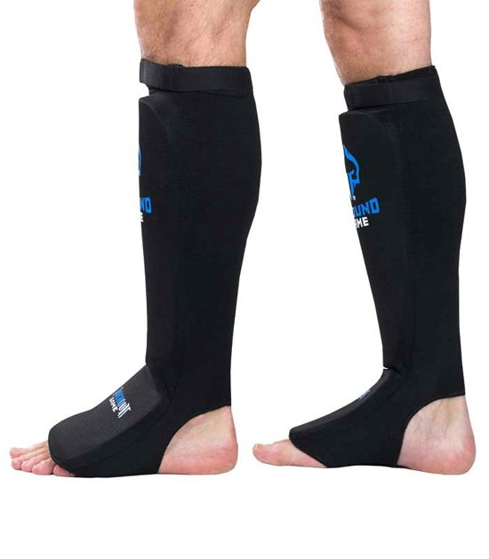 """Elastic Shin Guards """"Knockout Game"""""""