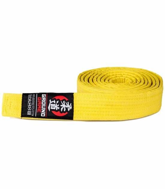 Judo Belt Yellow