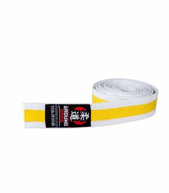 Judo Kids Belt White-Yellow