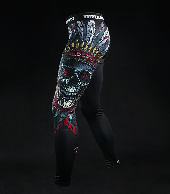 "Leggings ""Indian Skull"""
