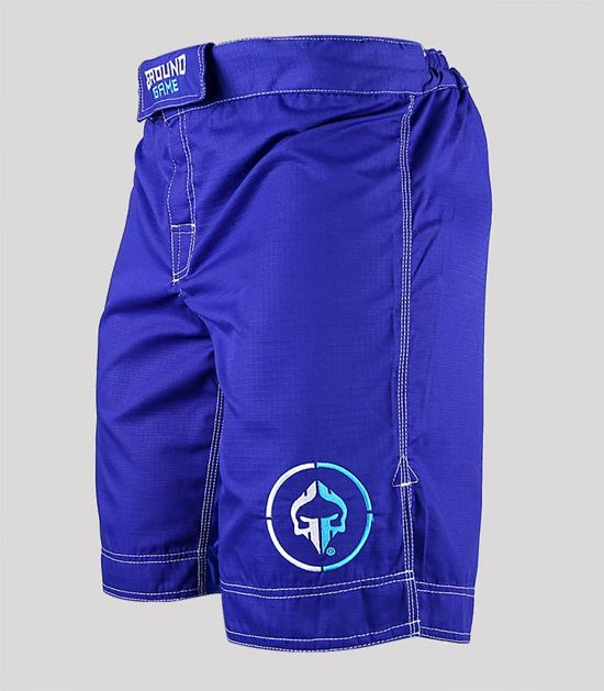 "MMA Shorts ""Athletic"" Ripstop (Blue)"