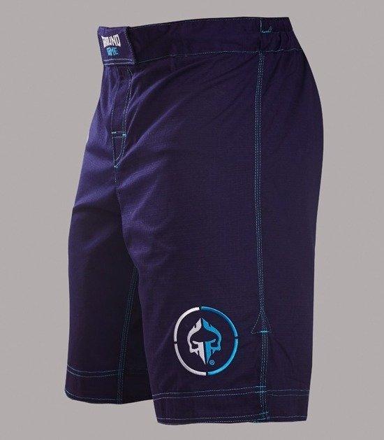 "MMA Shorts ""Athletic"" Ripstop (Dark Navy)"