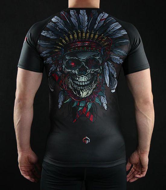 """Rashguard """"Indian Skull"""""""
