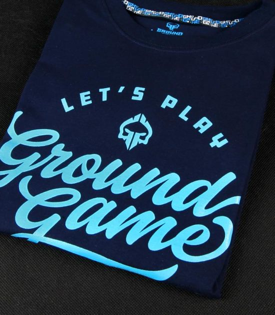 "T-shirt ""Gamester"" Dark navy"