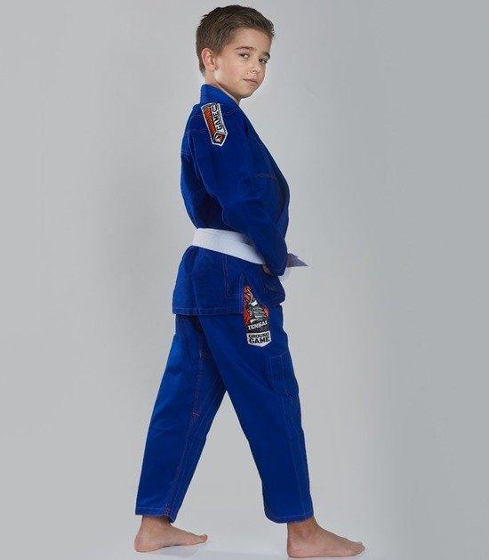 """""""Tensai"""" BJJ Kids GI (Blue)"""