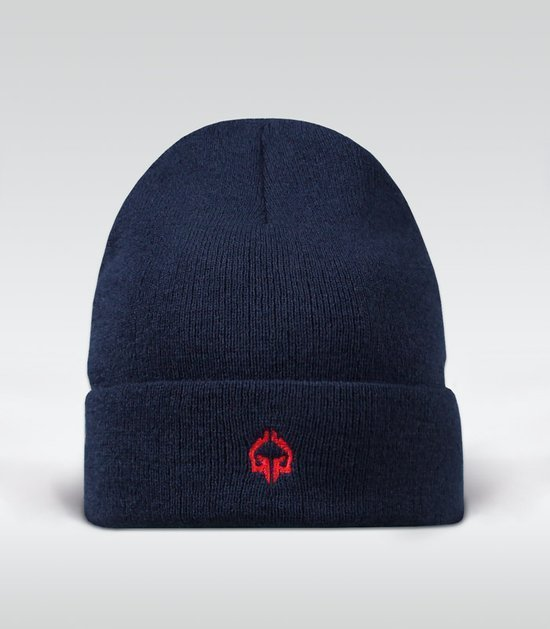 "Winter Hat ""Minimal"" navy blue"