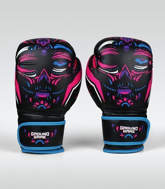 "Women's Boxing Gloves ""La Muerta"" 16 oz"