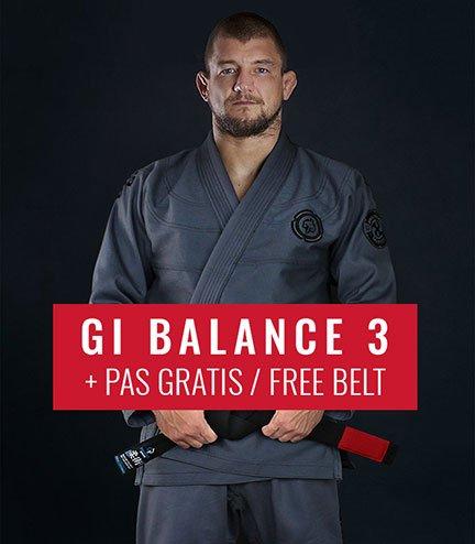 "GI do BJJ ""Balance 3 Shadow"" (Szare) + pas GRATIS"