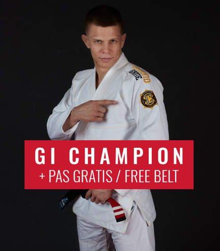 """GI do BJJ """"Champion 2.0"""" (Białe) + pas GRATIS"""