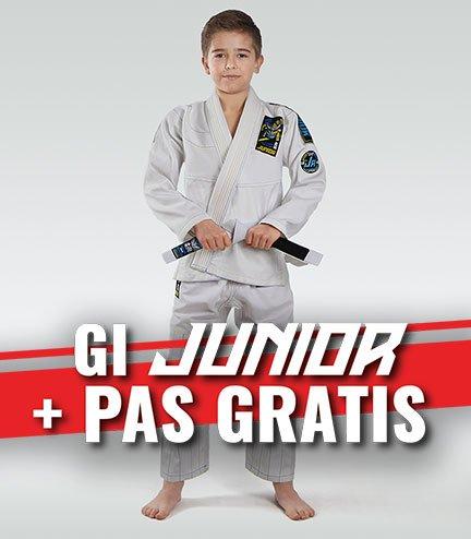 """GI do BJJ dla dzieci """"Junior 3.0"""" (Białe) + pas GRATIS"""