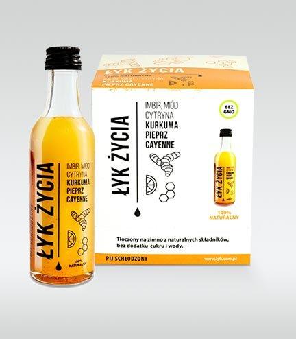 """""""Łyk Życia"""" Zestaw 9 shotów"""