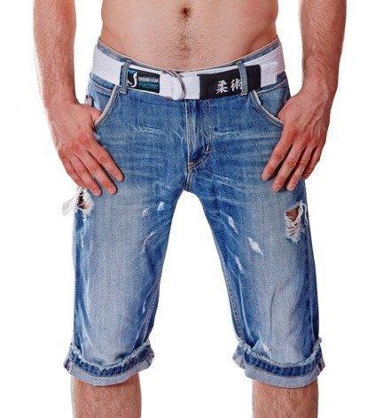 Pas BJJ Jeans (Biały)