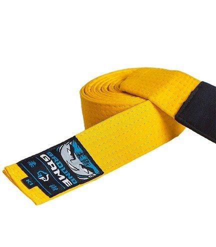 Pas do BJJ dla dzieci (Żółty)
