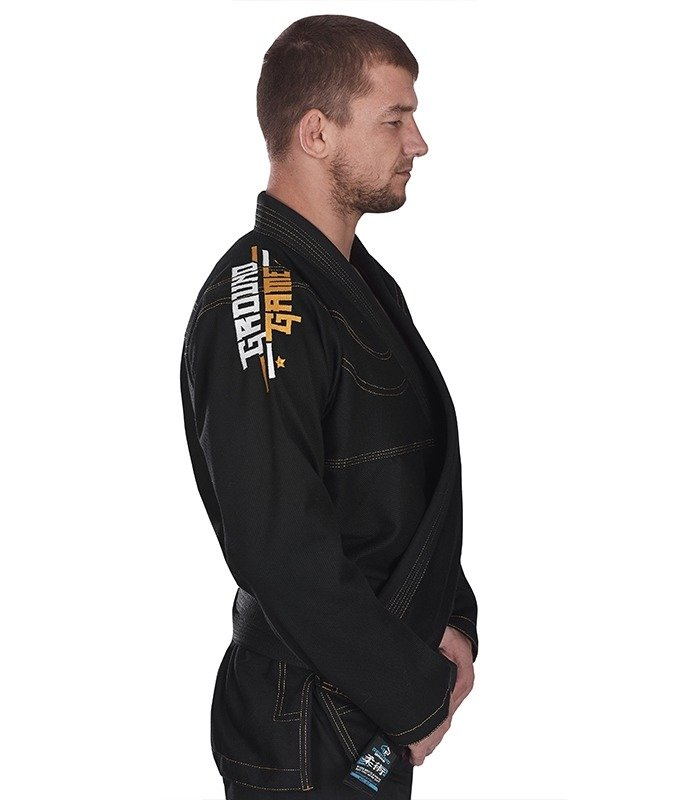 "GI do BJJ ""Champion"" (Czarne)"