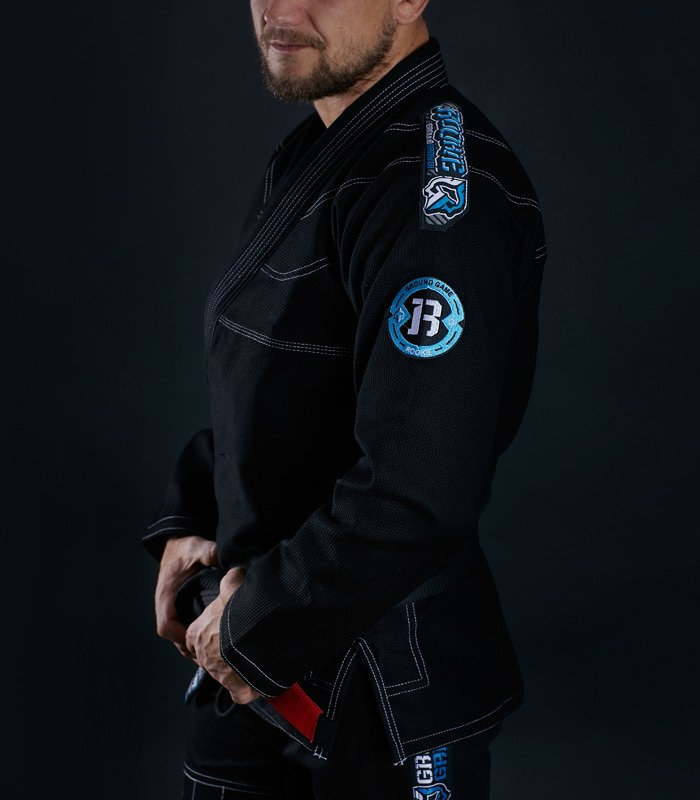 "GI do BJJ ""Rookie"" (Czarne)"
