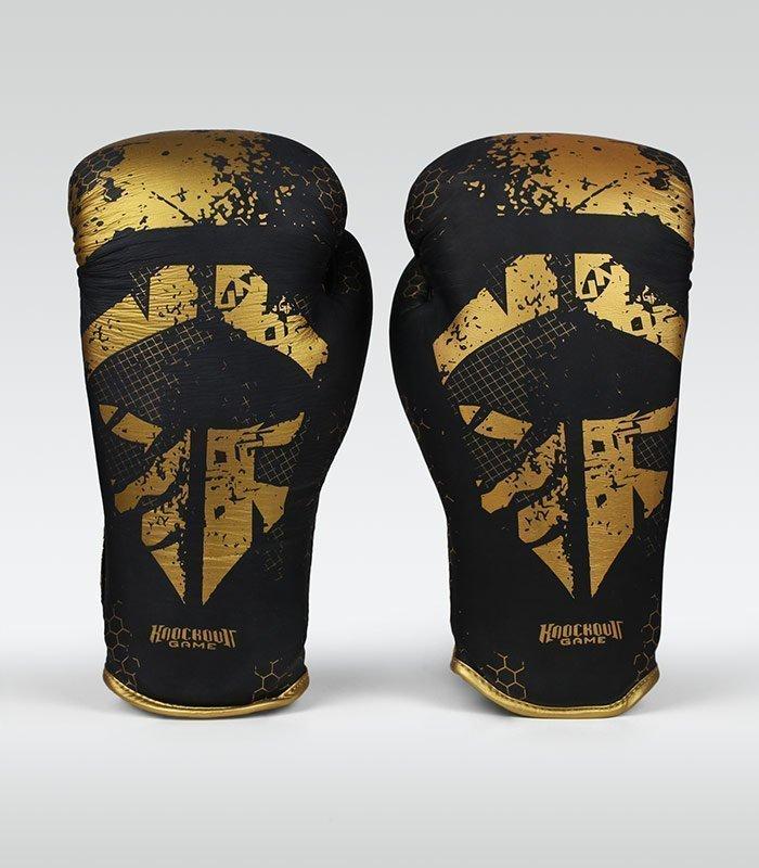 "Rękawice bokserskie ""Cage Gold"" 10 oz"