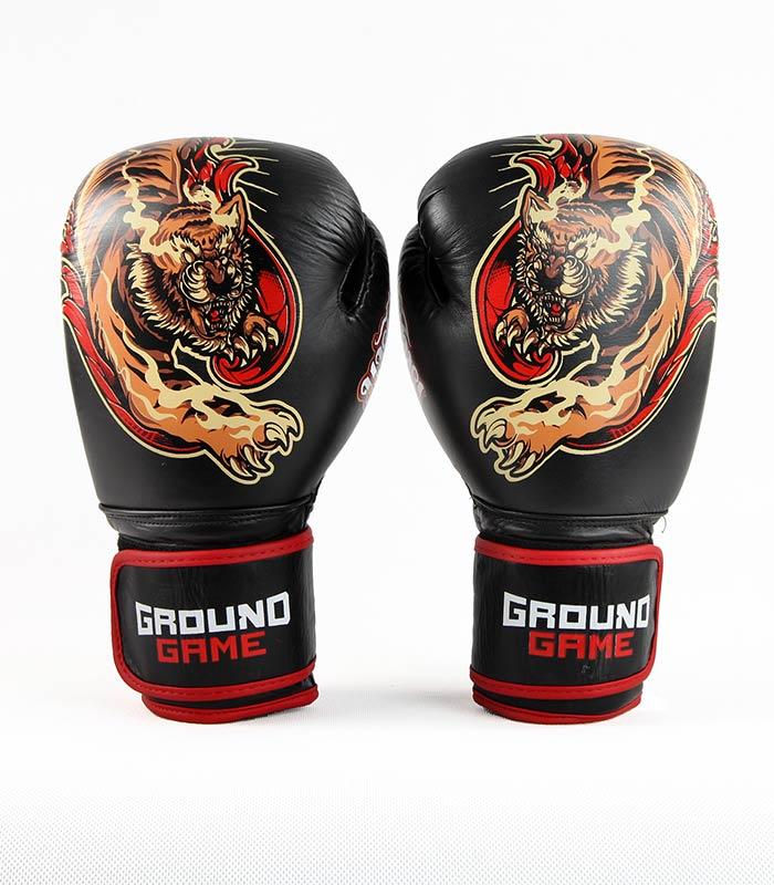 "Rękawice bokserskie PRO ""Red Tiger"" 12 oz"