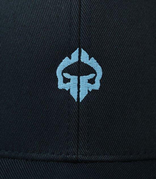 """Czapka z daszkiem """"Mini Logo"""" Ciemny granat"""