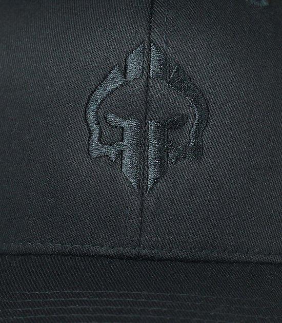 """Czapka z daszkiem dla dzieci """"Logo Shadow"""" Czarna"""