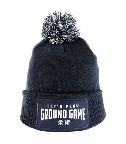 "Czapka zimowa ""Ground Game"" granatowa"