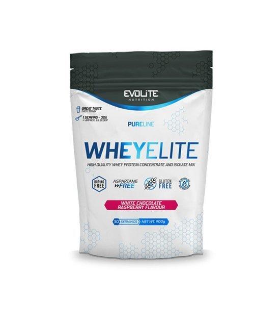 Evolite WheyElite 900g, White chocolate raspberry