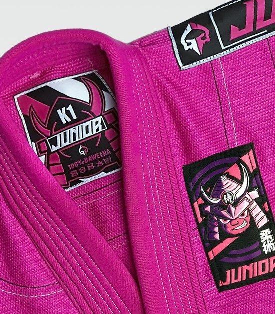 """GI do BJJ dla dzieci """"Junior 3.0"""" (Różowe)"""