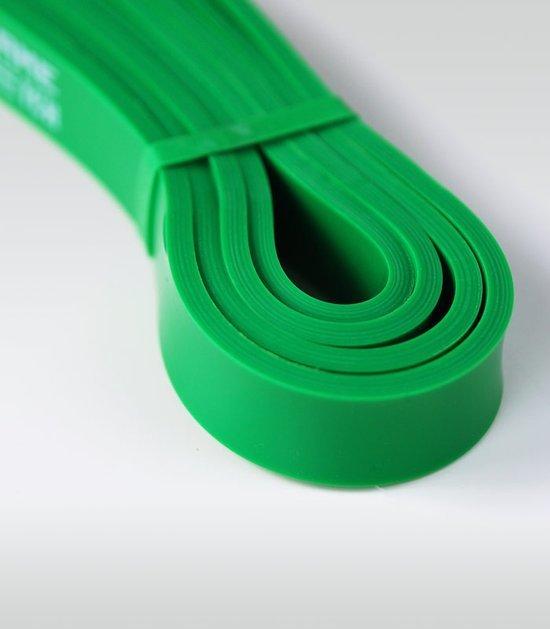 Guma treningowa Power Band (zielona, 22 mm, 12-30 kg)