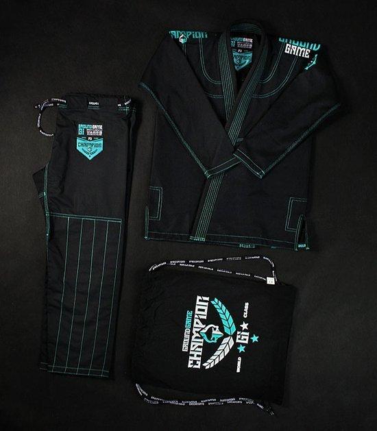 """Kimono/GI damskie do BJJ """"Champion 2.0 Mint"""" (Czarne)"""