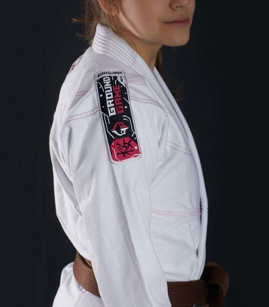 """Kimono/GI damskie do BJJ """"Sakura"""" (Białe)"""