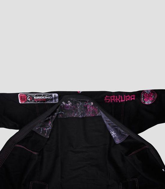 "Kimono/GI damskie do BJJ ""Sakura"" (Czarne)"