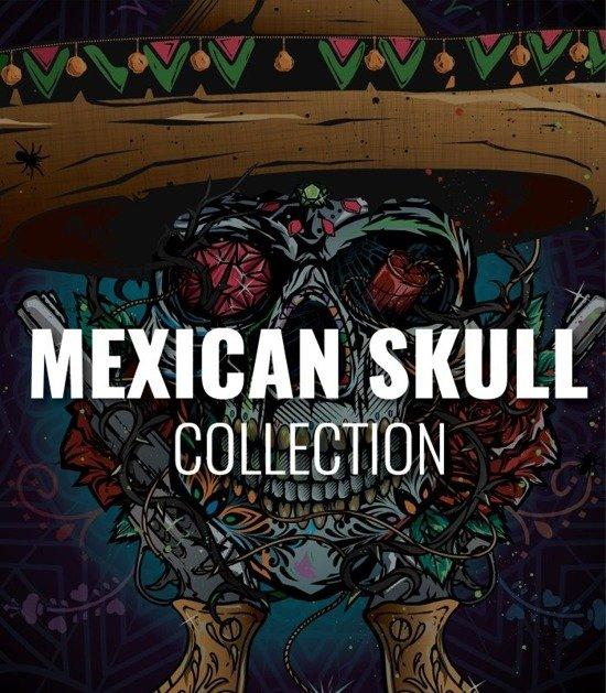 "Kolekcja ""Mexican Skull"""