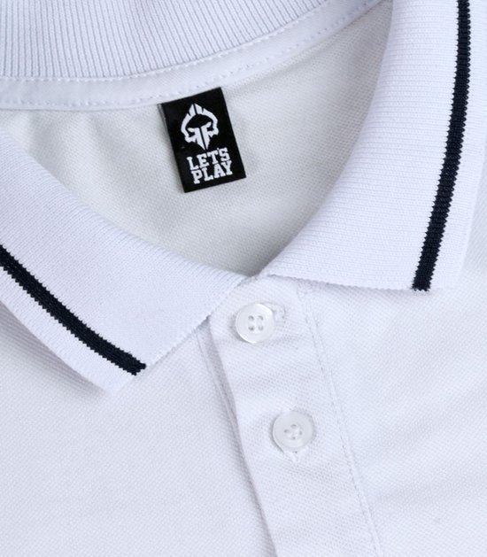 "Koszulka polo  ""Minimal"" Biała"