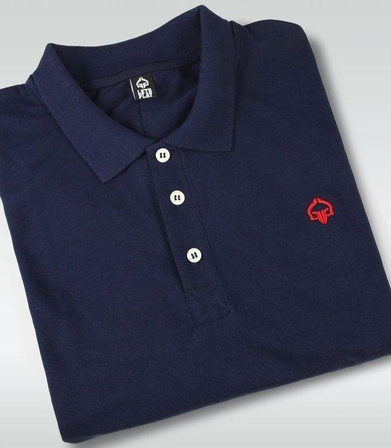 """Koszulka polo  """"Minimal"""" Granatowa"""