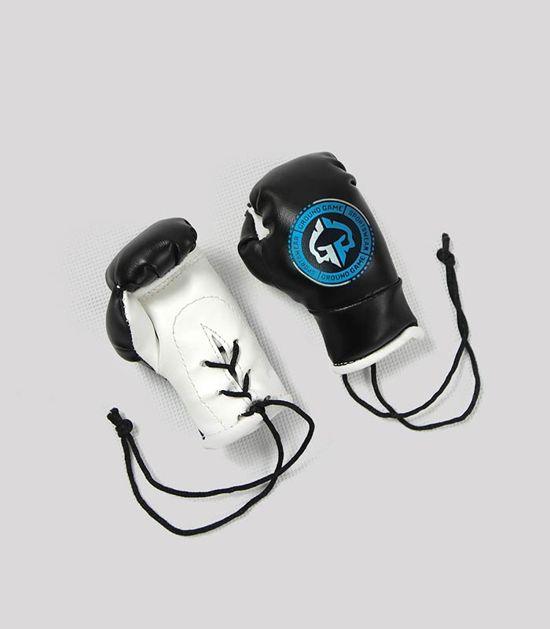 Mini rękawice bokserskie do auta
