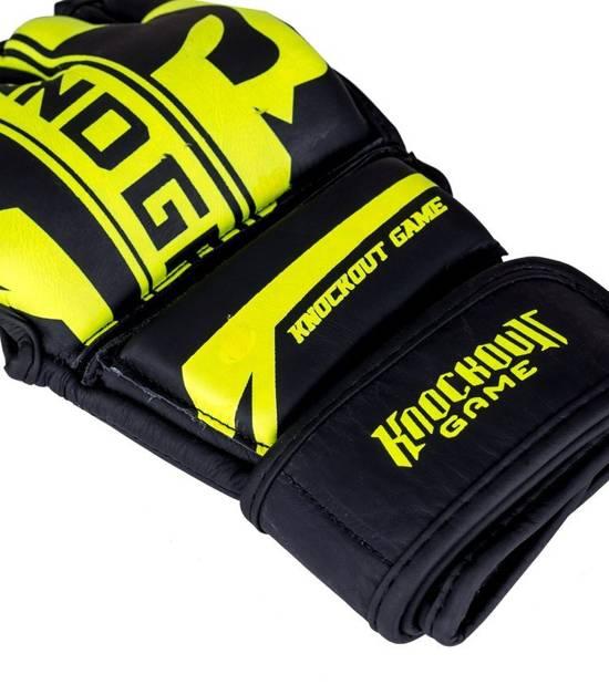 "Rękawice MMA ""Stripe Neon"""