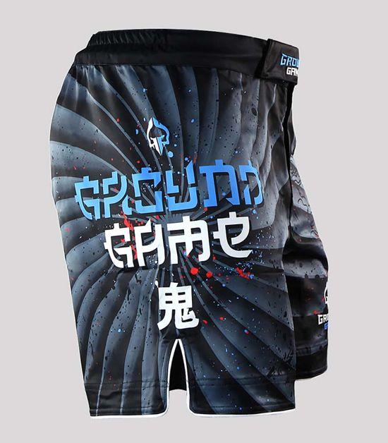 "Spodenki MMA ""Oni Black"""