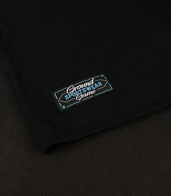 "T-shirt ""Big Logo"" Czarny"