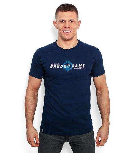 "T-shirt ""Elegant"" Granatowy"