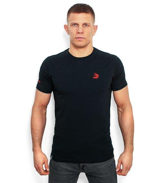 """T-shirt """"Jiteiro"""" Czarny"""