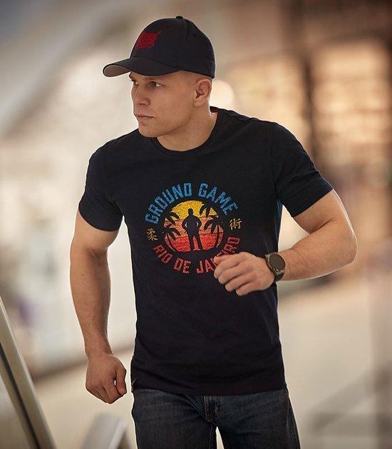"""T-shirt """"Rio de Janeiro"""" Granatowy"""